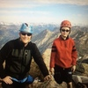 Up 14800 feet with my dad.