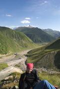 Rock Climbing Photo: Near Kazbek