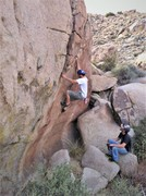 """The Brothers Salazar enjoying """"My Brother's Keeper"""" A definite contender for best V1 in the county."""