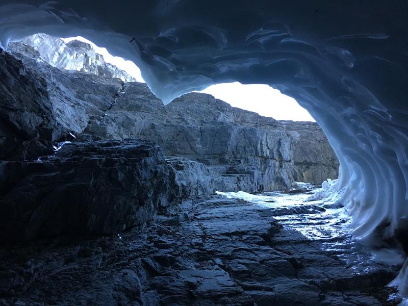 Ice bridge cave