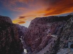 Shoshone Canyon Granite