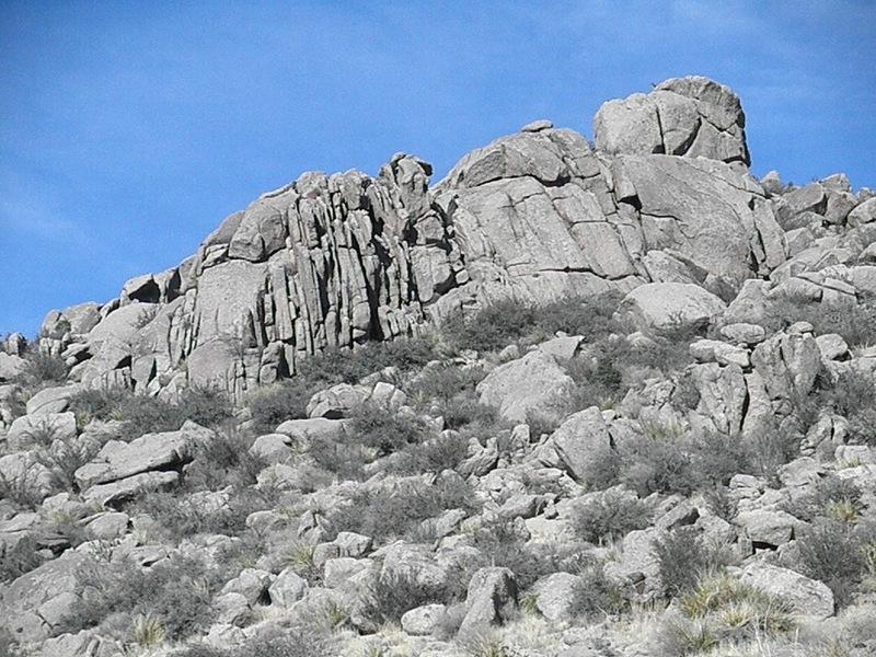 Carnuel Crag proper
