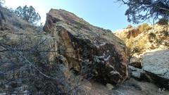 Rock Climbing Photo: Curly's Draw Boulder.