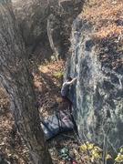 Rock Climbing Photo: The FA