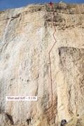 Rock Climbing Photo: Mutt and Jeff (December 2017)