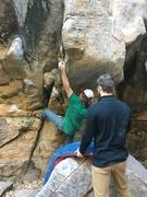 Rock Climbing Photo: Creamy holds