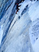 Rock Climbing Photo: Myles Moser leading Candelabra, Nov 2015