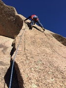 EJ at the crux of Bishop's Jaggers.
