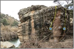 Rock Climbing Photo: 1. Gaslighting.