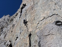 Having fun on Sun Ribbon Arete