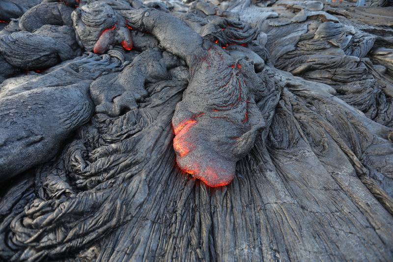 Lava on Big Island