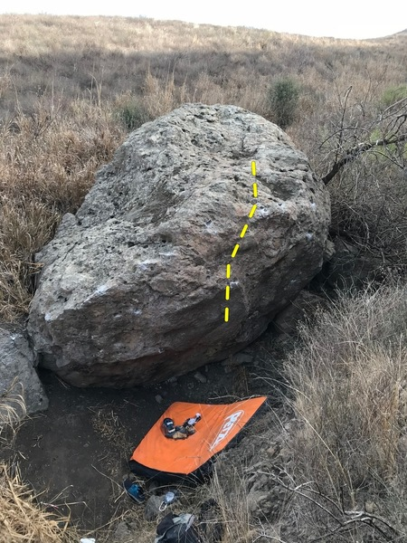 Topo and starting holds