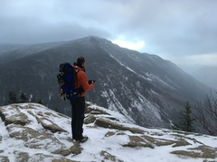 Rock Climbing Photo: Top of Wilard after early season up LHMW/cleft