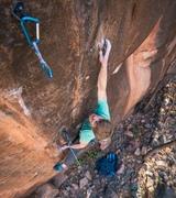 Evan Mathews on Pure Powah. Photo by Jack Lester.