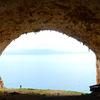 The spectacular Tersanas Cave in Crete.