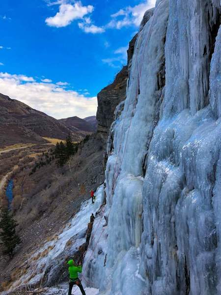provo canyon ice