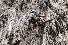 Rock Climbing Photo: Hing on The Confluence. 9/13/17.