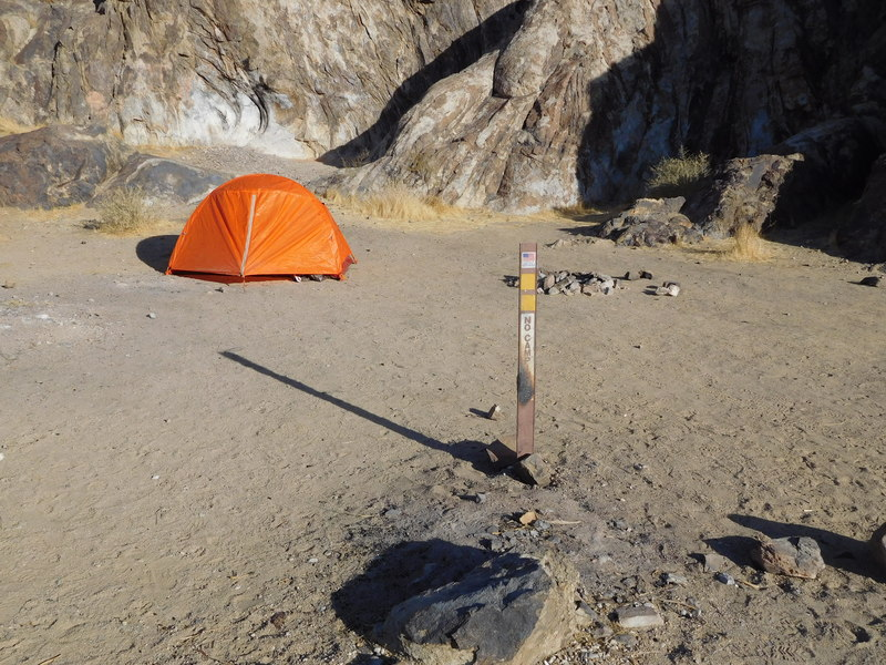 "No Camping used to mean ""no camping,"" but there's no campground host so why should climbers follow the posted rules!"