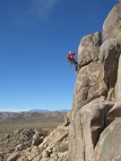 Rock Climbing Photo: Todd Gordon on the lead.  photo by bob gaines