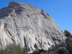 Rock Climbing Photo: Little Hunk, Southwest Face, Trespassers Wall  p...