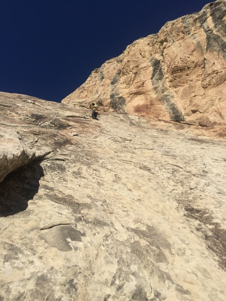 Cliff ridge