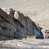 Looking down Rock Dodger Dihedral.