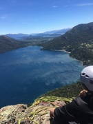 View of Bariloche from the summit of Ruach de Jonah