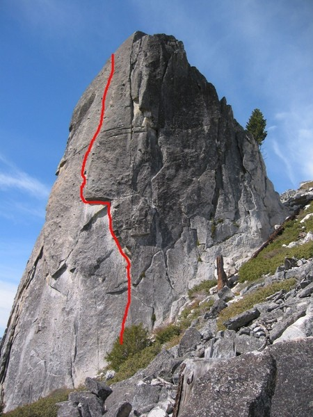Upper Spire East/ South East Face