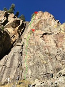 Yellow Jersey, 5.11.  East Jungle Gym, Ophir, CO.