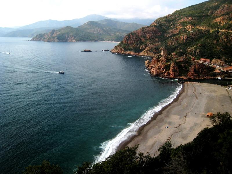 Scenic Portu on the island of Corsica