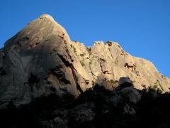 Rock Climbing Photo: Left end of Orgui d'u San Petru