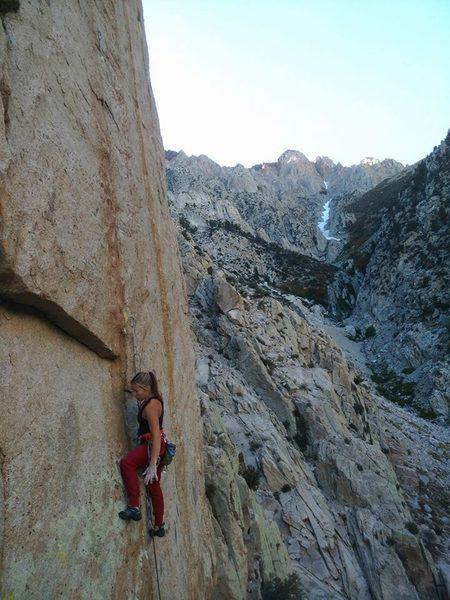 FA of Ten High, 12+, Pine Creek Canyon
