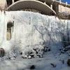 Bridal Veil/Franklin St ice on Jan 3, 2018