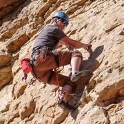 Rock Climbing Photo: Climbing at shelf
