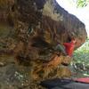 Classic route on Mia Noi boulder