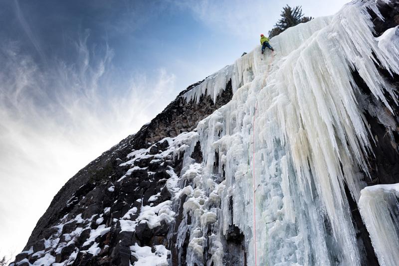 Hyalite Canyon - Montana - Ice Climbing