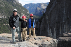 Rock Climbing Photo: The Notch Route on the Rostrum might be our favori...