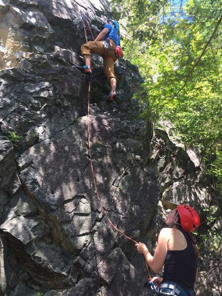 Exit 38 sport climbing