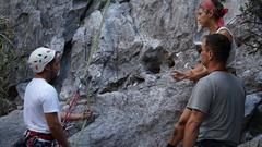 Rock Climbing Photo: Class