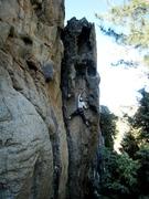 Rock Climbing Photo: Bédé at La Conque