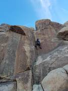 Rock Climbing Photo: This perspective makes the route look even shorter...