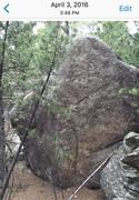 Rock Climbing Photo: tall boulder