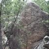 tall boulder
