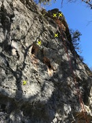 Rock Climbing Photo: 8 It Grand three bolts to a pair of chains.