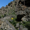 Stairway crag approach at Cuccia