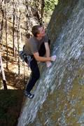 Chad Suchoski on Annabelladonna 12a crux