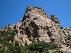 Rock Climbing Photo: Tafoni laden Col de la Tana