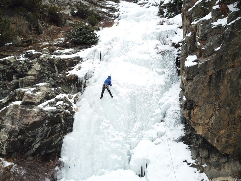 Fat Ice, Good Weather. Lower Falls section*.