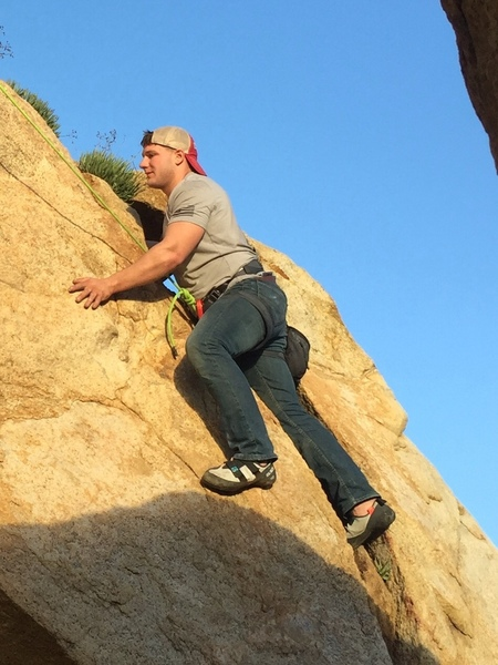 First time climb
