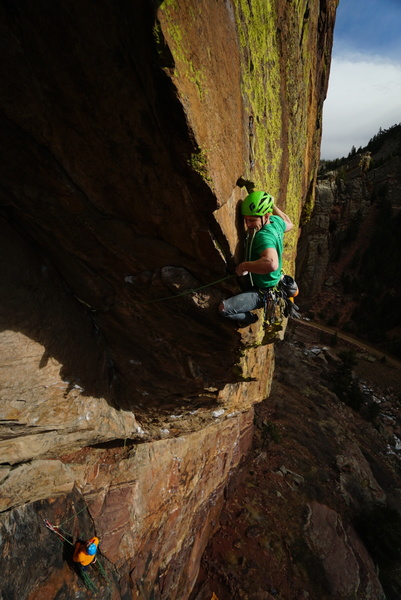 Extend the clip from the top pin or suffer the drag!<br> <br> Photo: Marc Bergreen.
